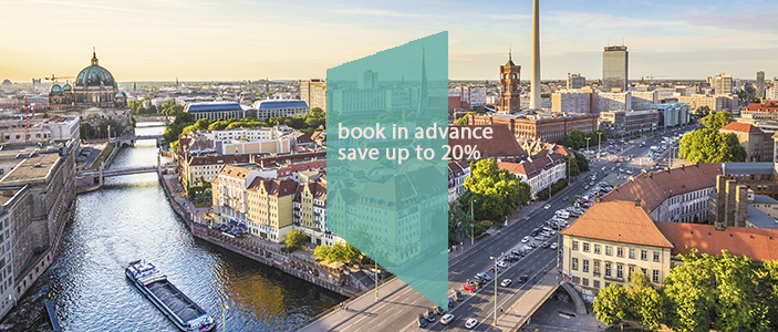 book in advance & save!