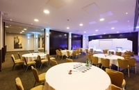 Cardiff venue with themed lighting for special events