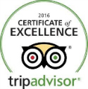 TripAdvisor Certificate of Excellence Winner 2016