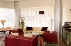 Leeds hotel Executive Lounge with modern furnishings