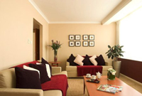 Nottingham room with sofas and coffee table