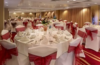 Formal dining in the Vista Suite