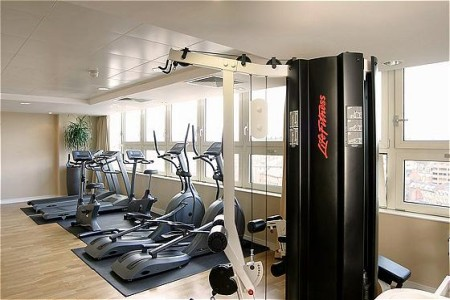 Fitness centre at Nottingham hotel
