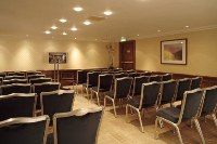London hotel event facilities in theatre-style arrangement
