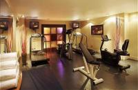 London hotel's well-equipped fitness suite