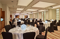 London wedding reception setting