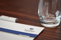 Park Plaza branded stationery