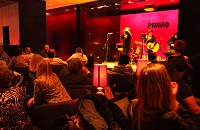 Band performing live at Primo Bar