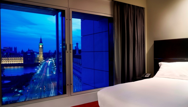 One-bedroom suite: iconic view