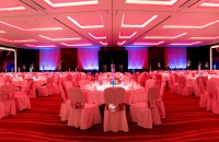 Westminster Ballroom arranged for a wedding