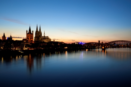 Cologne waterfront