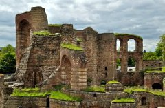 Trier on the Moselle - Roman city ruins