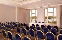 Pula event space arranged for presentation