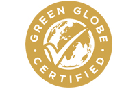 Highest quality in sustainable practices - Green Globe Certification