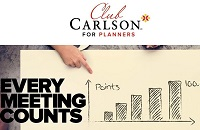 Club Carlson for Planners promotion