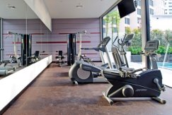 Fitness centre with cardio machines