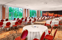 round tables meeting room