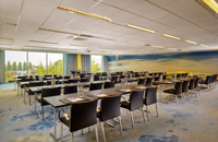 meeting room blue school set up