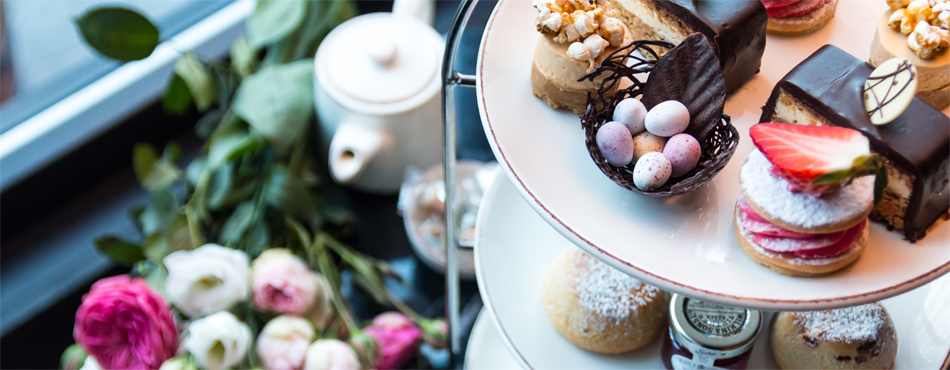 Easter breaks with afternoon tea