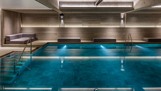 Luxury spa in manchester city centre spa gym - Swimming pool manchester city centre ...