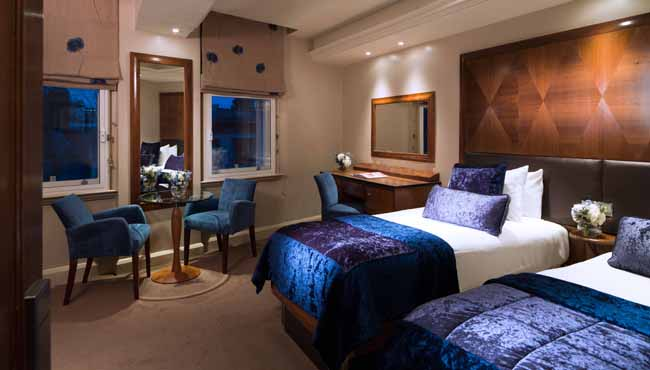 Rooms: Luxury Hotel Rooms In 4-star Central London Hotel