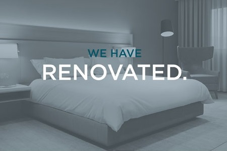 We have renovated