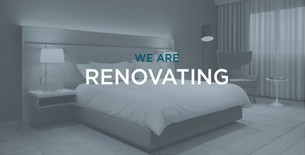 We are renovating