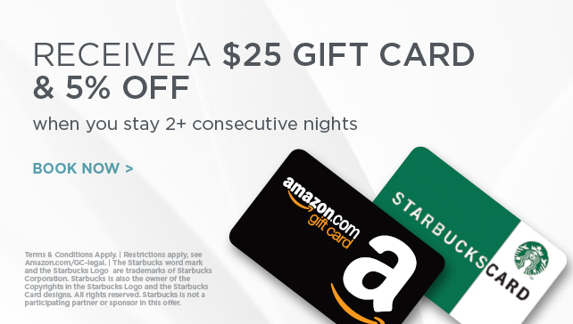 Radisson: Get $25 Gift Card & 5% Off w/Stay 2+ Nights