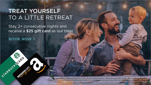 Treat yourself to a little retreat