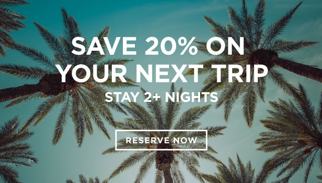 Save 20% on Your Next Trip