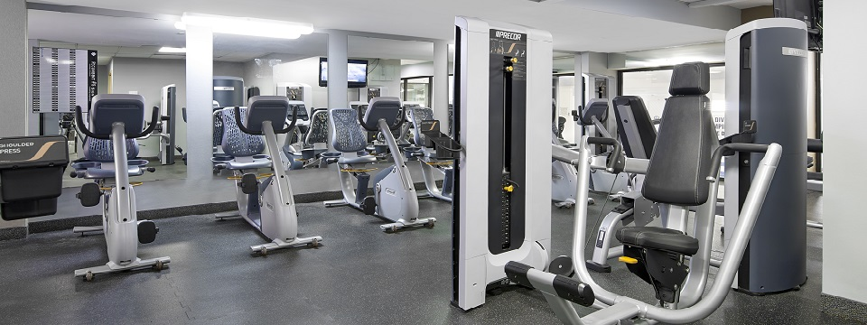 Fitness centre with cardio equipment