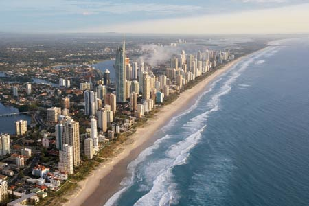 The Gold Coast - Aerial View