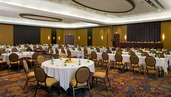 Ballroom in Conference SetUp Style