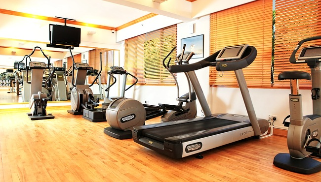 Work Out in the Fitness Centre
