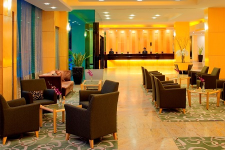 Bandar Seri Begawan hotel lobby with ample seating