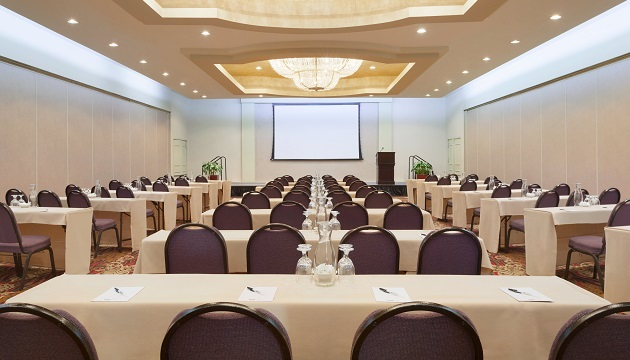 Meeting space near the USC campus at the Radisson hotel in Los Angeles