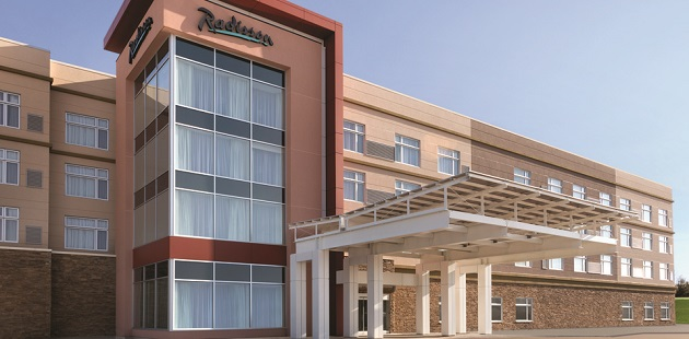 Radisson Kingswood Hotel & Suites, Fredericton, NB exterior