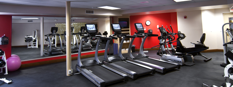 Fitness center at Radisson Hotel El Paso Airport