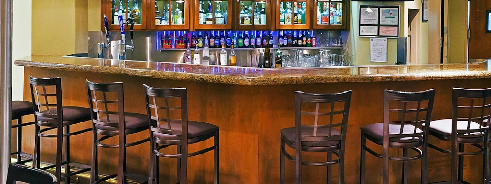 On-site bar at Radisson Hotel El Paso Airport
