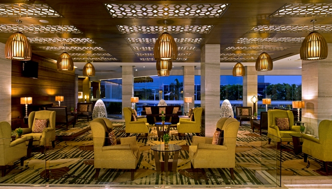 Relax in the Lobby Lounge