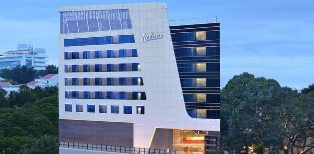 Radisson Bengaluru City Center hotel facade