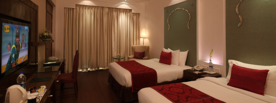 Business Class Room with two twin beds at our Jaipur hotel
