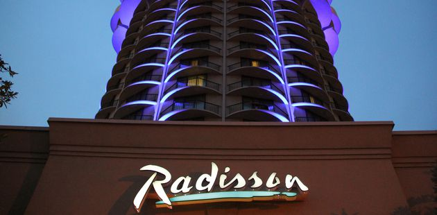 Exterior of Radisson Hotel Cincinnati Riverfront