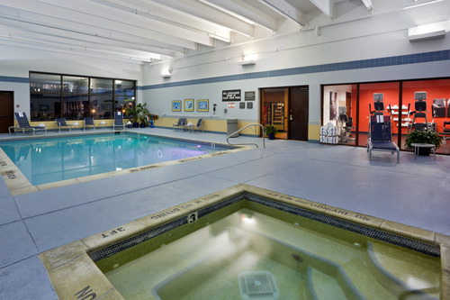 Indoor Pool and Whirlpool Spa