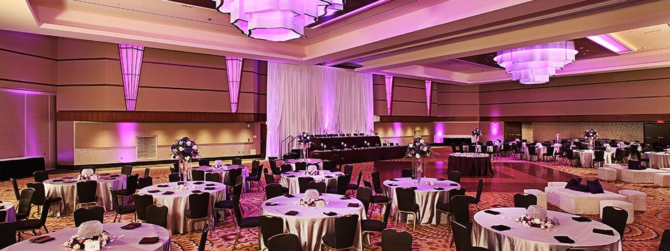 Kalamazoo wedding reception venue with dance floor