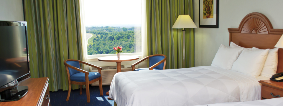Standard Guest Room with two double beds and a view of Branson