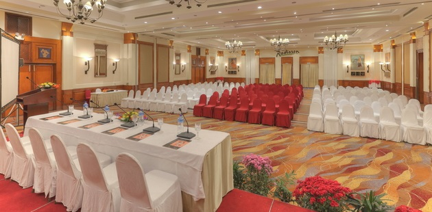 Hotel's Nepa-Dhuku Hall set up in theatre-style