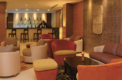 The Lobby Bar with plush seating