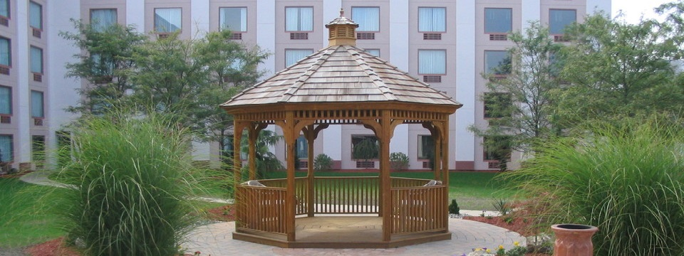 Gazebo for group gatherings