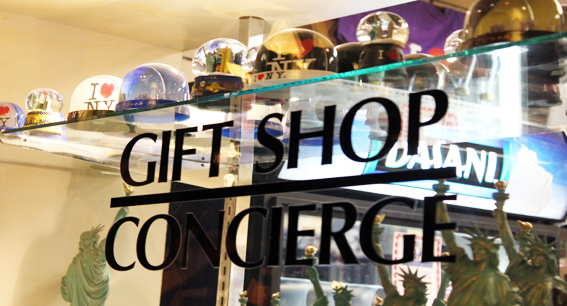 Gift Shop and Concierge